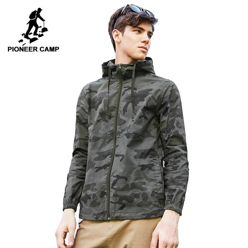 Пионерский лагерь новая камуфляжная куртка пальто брендовая мужская одежда модная верхняя одежда мальчиков наивысшего качества эластична...
