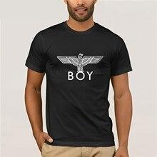 fa40885e7 Men Fashion Brand T Shirt Boy London Tops Tees Eagle High Quality Short  Sleeve Tee Shirts