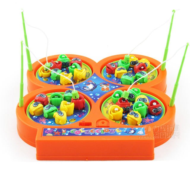 Aliexpress.com : Buy Kids Electric Rotating Fishing Set ...