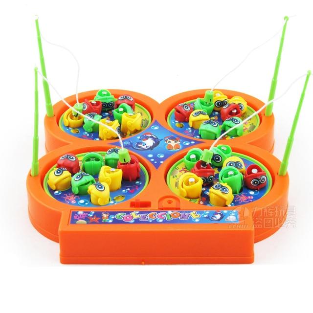 Aliexpress.com : Buy Kids Electric Rotating Fishing Set ...