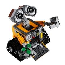 687Pcs New Educational Building Blocks Toys Compatible With Legoingly idea Movie Series Robot WALL E Action Figures Children new creator idea robot wall e action figures compatible creators 21303 building block toys christmas gifts children 16003