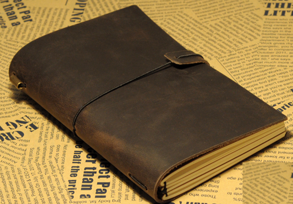 A6 bands midor travel's vintage cowhide travel notepad diary genuine leather notebook 2022702 2018 yiwi vintage binder a6 a5 handbook travel notepad leather leather notebook diary