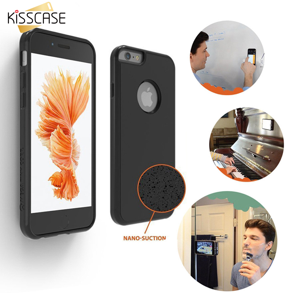 online store 208a5 9bf8a Details about Magical Sticky Case Anti-Gravity Cover For iPhone 6 Plus  Mobile Cases Sale