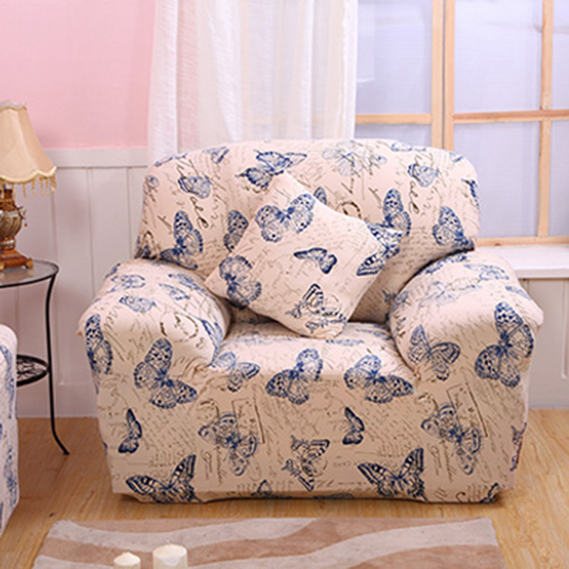 Flower Sofa Cover Slipcover Elastic Sofa Converts Cover Tight All inclusive housse de canape extensible sectional