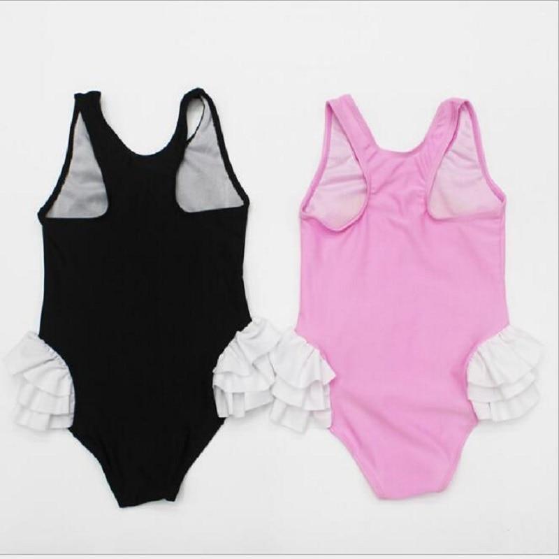 529ae5e7d8c28 Girls Bikinis One Piece Swimsuits Baby Swimwear Children Bathing Suit Kids  Monokini Swan Flamingos Cartoon Summer Top qo406-in Children's One-Piece  Suits ...