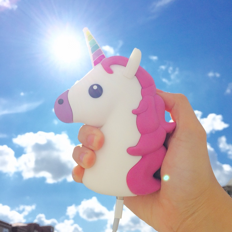 Portable Power Bank 8000mah Universal Unicorn Mini Cute