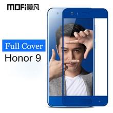 Huawei honor 9 glass tempered MOFi original Huawei honor 9 screen protector full cover 2.5D gray Huawei honor9 glass film 5.15