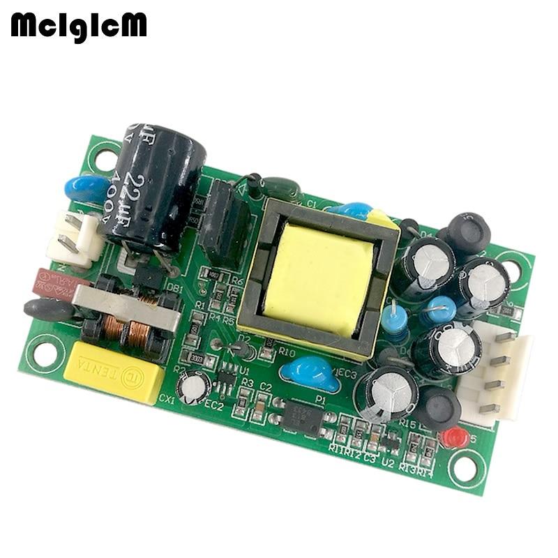 MCIGICM AC DC Step Down Converter AC 110V 220V 90 240V to DC 24V 5V Dual