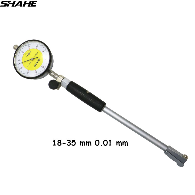 SHAHE 18-35mm dial bore gauge dial indicator gauge bore gauge indicator все цены