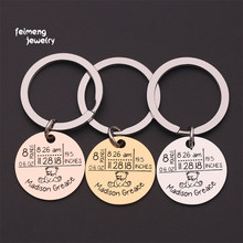 New Born Child Custom Information Gift Keychain Weight Date Name Engraved Precious Memory Keepsake Gift For Baby Keyrings(China)