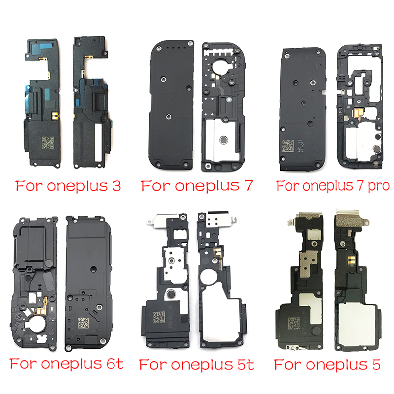 New Loud Speaker Buzzer Ringer Loudspeaker Modules Flex Cable Replacement Parts For Oneplus 3 5 6t 6t 7 Pro