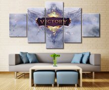 Victory Painting Wall Art Paintings on Canvas for Home Decorations Decor 5 Piece Game League of Legends