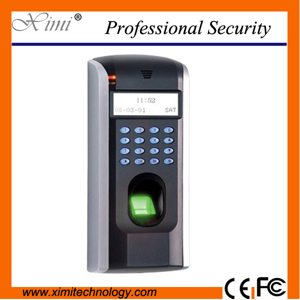 Zk Linux System Free Software Tcp/Ip Communication 1500 Fingerprint User F7 Door Access Control Fingerprint Access Controller biometric fingerprint access controller tcp ip fingerprint door access control reader