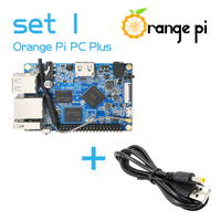 Orange Pi PC Plus SET1: Orange Pi PC Plus + USB to DC 4.0MM - 1.7MM Power Cable