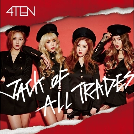 4TEN 1ST MINI ALBUM - JACK OF ALL TRADES  Release Date 2016-03-11 KPOP ALBUM penny dale ten out of bed