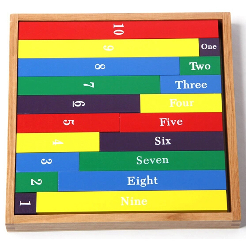 Juguete para bebés Varillas de barras numéricas Montessori - Educación y entrenamiento - foto 2