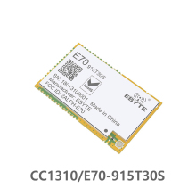 E70-915T30S CC1310 915MHz 1W Wireless rf Module CC1310 Serial Transceiver SMD 915M Module freeshipping 2pcs lot cc1101 wireless module 868m 915m wirless module with antenna
