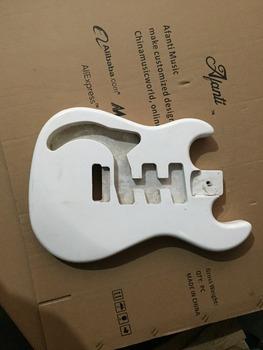 Afanti Music gitara elektryczna DIY korpus gitary elektrycznej (ADK-523) tanie i dobre opinie Beginner Unisex Do profesjonalnych wykonań Nauka w domu LIPA Drewno z Brazylii None Electric guitar Electric guitar body