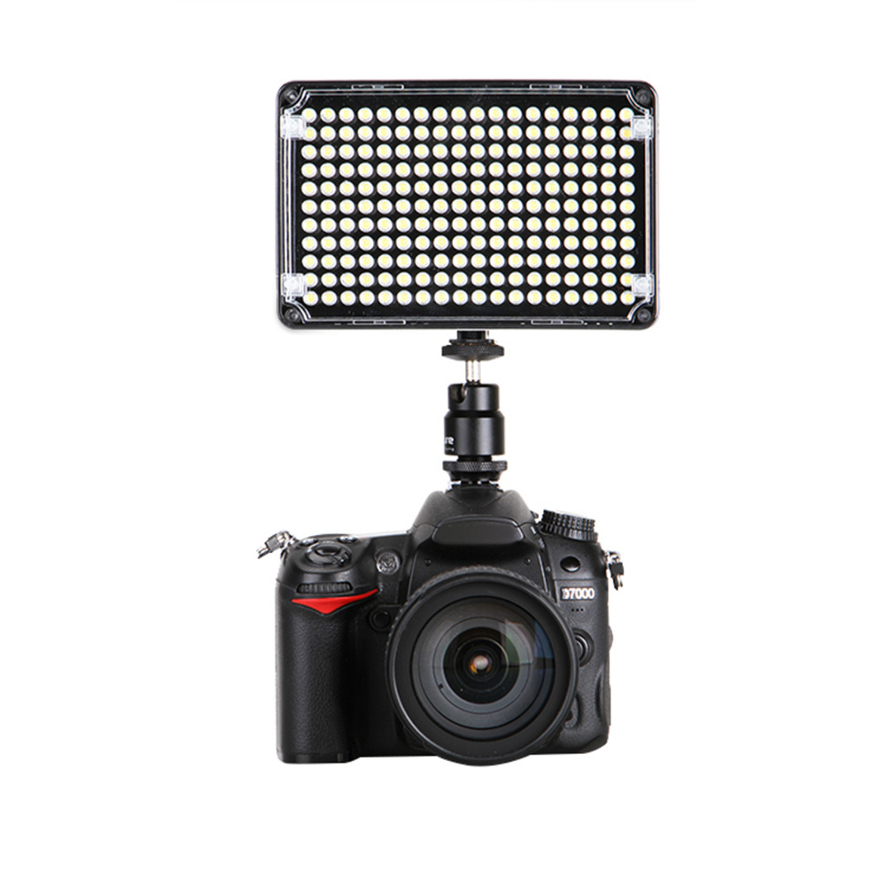 ФОТО Original Brand Aputure Amaran ALH198C LED Professional Video Light Lamp For Canon Pentax Camcorder Cam Bicolor Temperature Light