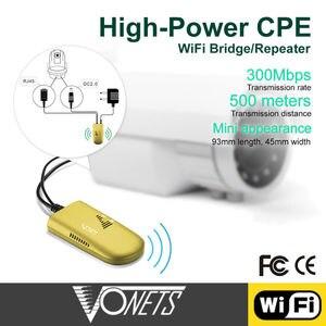 Image 4 - Vonets répéteur wifi commercial, VAP11G 500 500 m, répéteur Wifi, pont RJ45 vers wifi