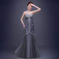 Diamonds Strapless Mermaid 2018 Women's elegant long gown party proms for gratuating date ceremony gala evenings dresses up 43