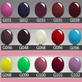 90 Colors Lacquer Led UV Gel Nail Sticker Soak Off Gel Polish Soak-off Gel Polish Cosmetic Easy