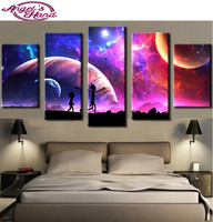 5d DIY Diamond Painting Rick And Morty Modular Vintage Diamonds Painting Cross Stitch Diamonds Embroidery Painting