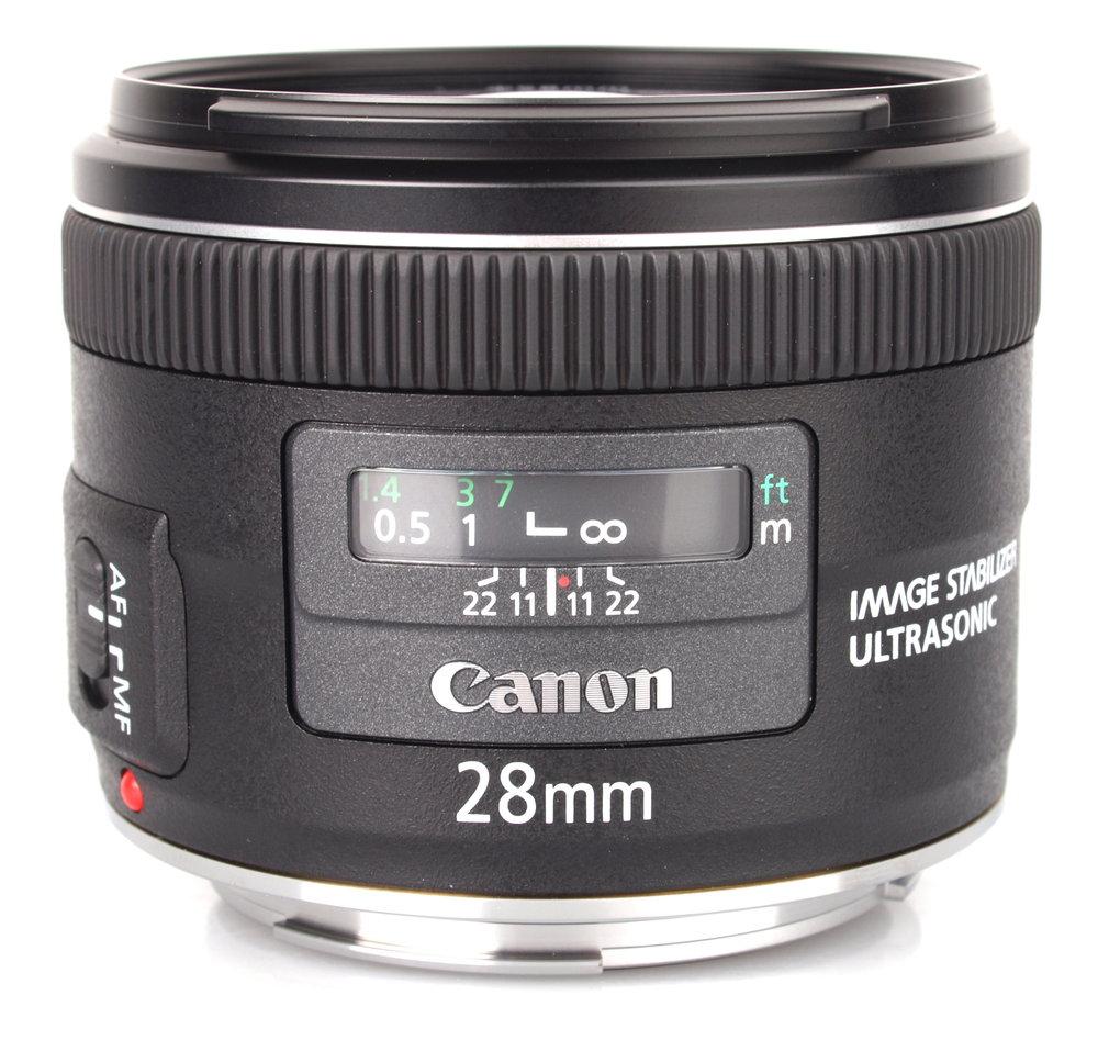 New Canon EF 28mm f/2.8 IS USM Lens For 700D 800D 77D 70D