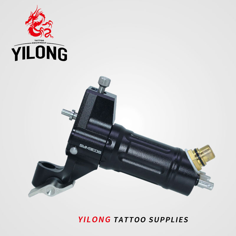 YILONG YILONG tattoo artist professional tattoo machine motor imported black machine europe god of darkness robert recommend gp self lock grips gp3 professional tattoo artist grip