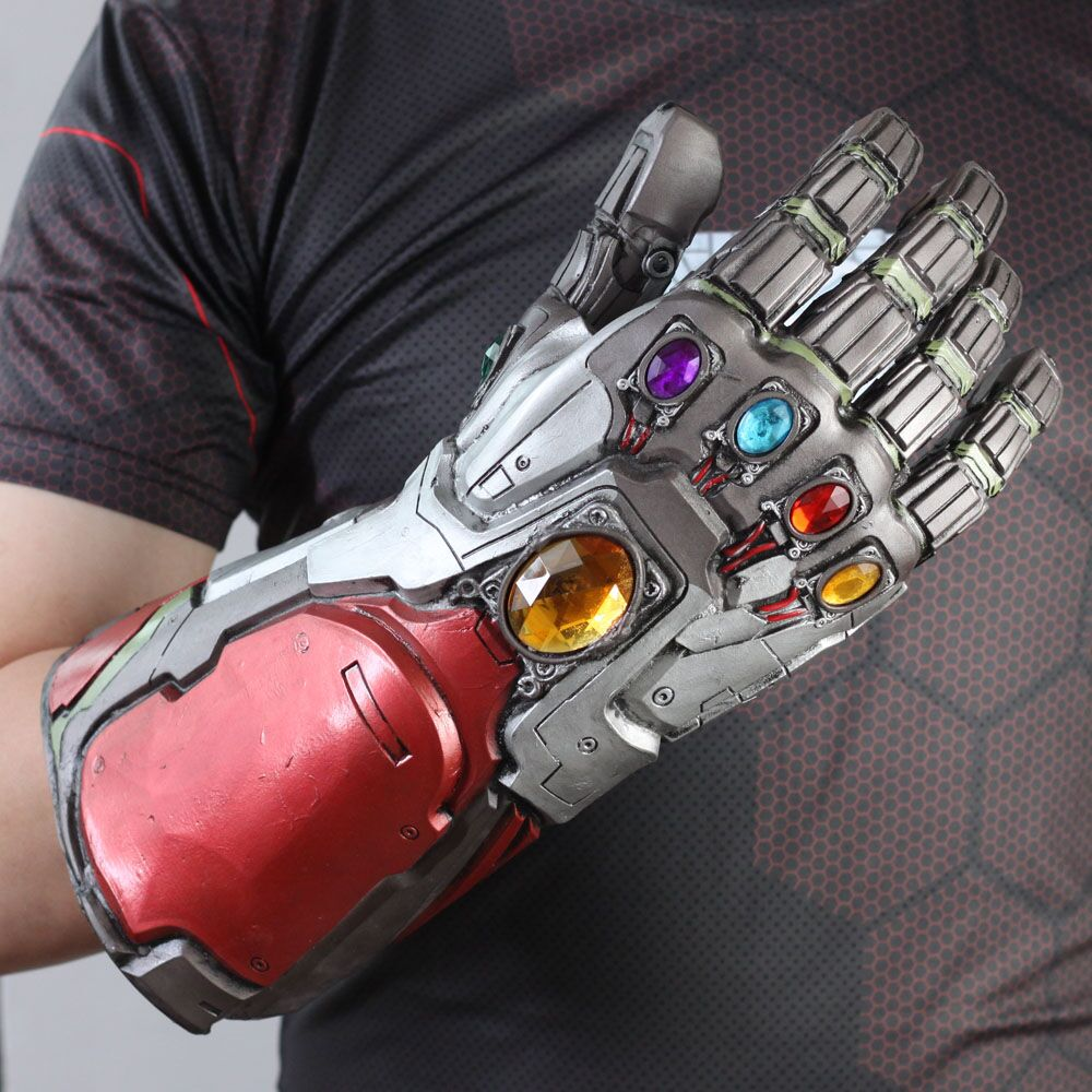 Novelty & Special Use Costumes & Accessories Kids Boys Girls Avengers 4 Endgame Thanos Gauntlet Plastic Gloves Party Holiday Halloween Cosplay Props Toys For Children High Safety