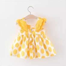 Baby Girl Summer Dress Print Clothes 0-24M