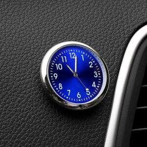 Image 2 - Ornement dhorloge à Quartz de voiture, pour BMW E46 E60 Ford focus 2 Kuga Mazda 3 cx 5 VW Polo Golf 4 5 6 Jetta Passat