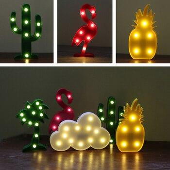 3D design lampe forme Animal LED Lampe Enfants Jouet lampe deco 1