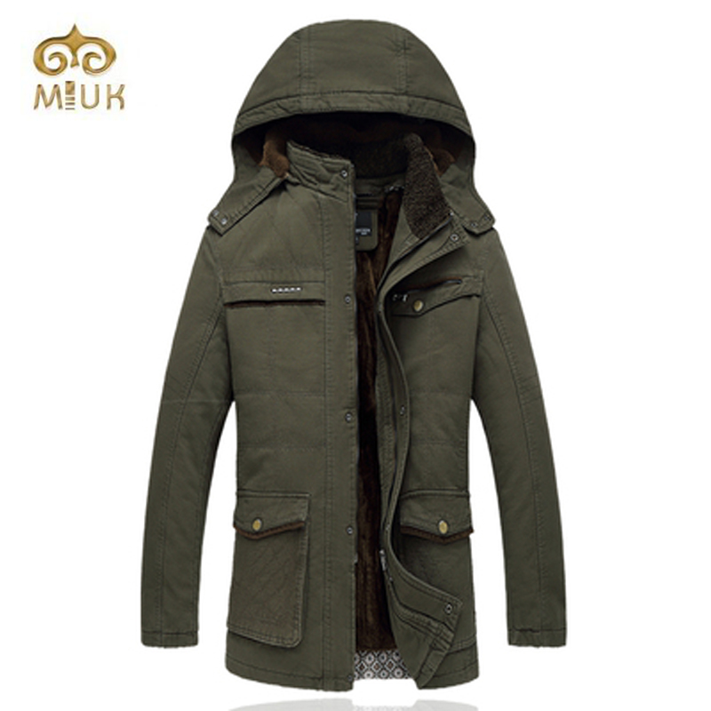 Khaki Army Long Coat Fashion Hooded Men Plus Size 4XL Men Winter Jacket Brand Clothing Jaqueta Masculina  Chaqueta Hombre цены онлайн