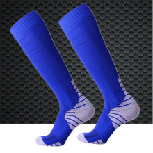 Soccer Socks (3 Pairs/lot) R-BAO/RB6609 Football 85% Cotton Men Sports Outdoor Hiking