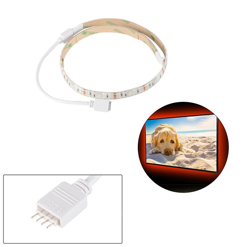 50cm TV Backlight Ultra Bright LED Strip Lights Waterproof Colorful Flexible SMD 5050 RGB For Home Indoor Decoration 1 pcs lj64 03514a 2012sgs40 7030l 56 rev1 0 led tv backlight strip 56 led 493mm