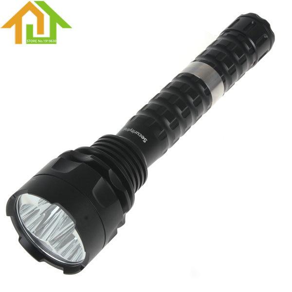 ФОТО 3600LM Securitylng  Waterproof IP67 3 x XM-L2 U2-1A LED 5 Modes Solid Flashlight