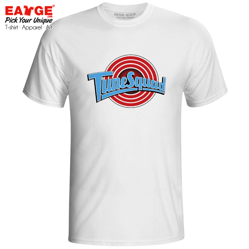 I Am A Tune Squad Basketball Player T shirt Retro Micheal J Movie Space Jam T Shirt Cool Skate Novelty Women Men Top in T Shirts from Men 39 s Clothing