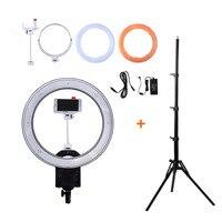 NanGuang CN R640 19 фото/видео/Студия/телефон 640 светодио дный 5600 К Камера Macro Ring свет лампы на треноге для фотографий макияжа