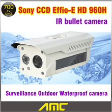 Sony Effio CCD 700tvl IR-CUT Filter Bullet CCTV Camera Indoor CCTV Security Camera Outdoor Night Vision Weatherproof