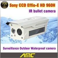 Cctv Camera 700tvl Home Security Camera HD 960H Sony CCD IR Array Cctv Camera System Bullet