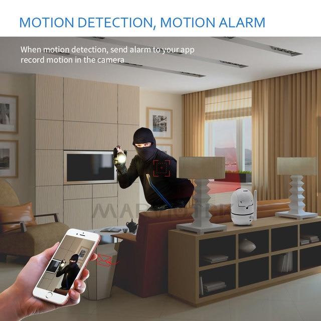 1080P Full HD Wireless IP Camera Wifi IP CCTV Camera Wifi Mini Network Video Surveillance Auto Tracking Camera IR Night Vision 5