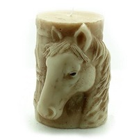 Creative Silicone Candle Molds ,Horse Design Silicone Forms Horse Plaster Molds Diy Scent Candle Molds