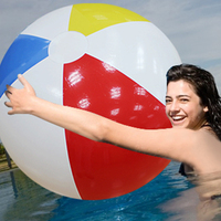 Giant 107CM 42inch Inflatable Beach Ball Pool Accessories Adult Kids Outdoor Games eco friendly Beach Sport Ball Toy 2018 Summer