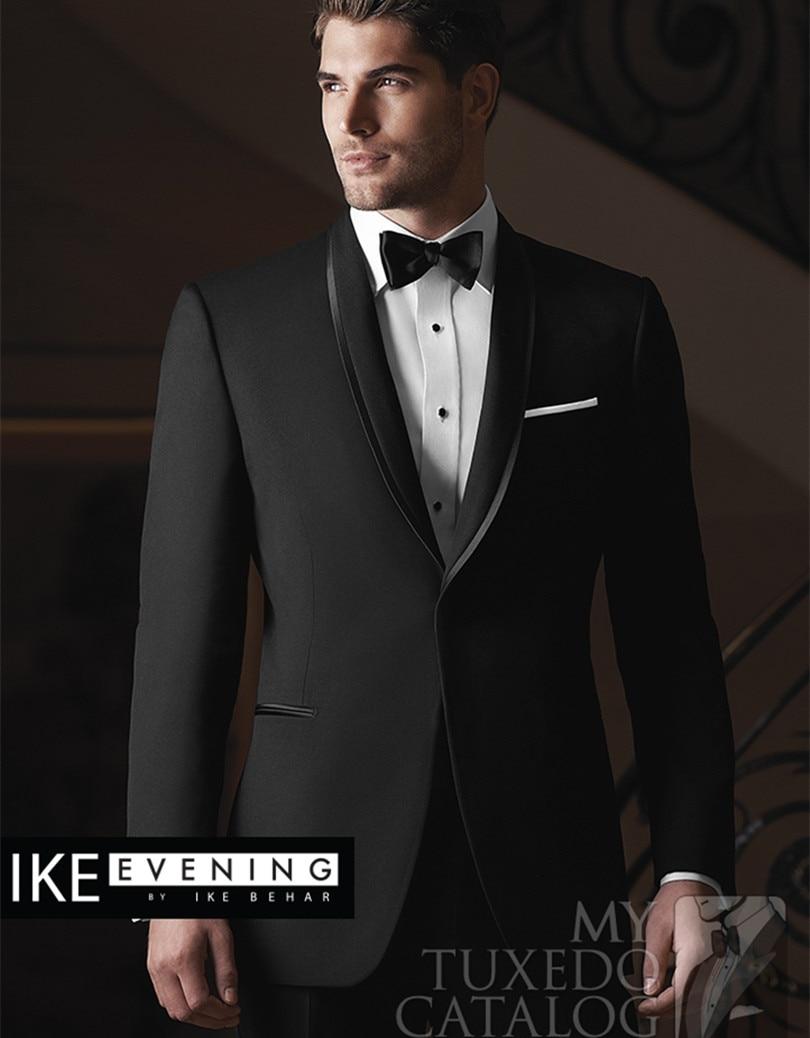 custom groom wedding suits men grooms tuxedos 2015 wool suit - yan xiong's store