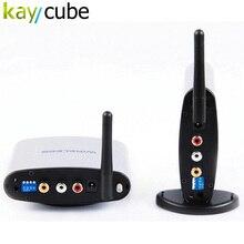 PAT-220 150 M 2.4 GHz Cyfrowy STB Udostępnianie Urządzenia Bezprzewodowe AV Audio Video Sender Nadajnik i Odbiornik Zestaw z IR zdalne PAT220