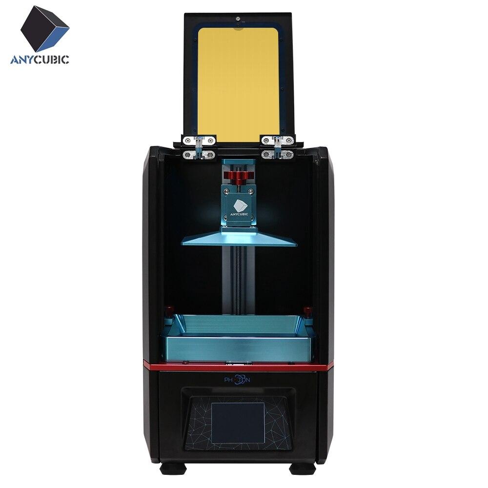 FÓTON ANYCUBIC 3D Resina Full Color Tela de Toque Da Impressora SLA/LCD UV-LED Final Fatia Luz Velocidade-Cura Impresora 3d Fóton