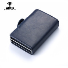 Double Aluminium Box Credit Cards Holders – RFID Block
