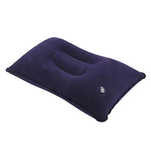 Soft Inflatable Air Pillow for Rest Bed Travel Cushion