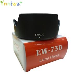 Image 1 - 10 יח\חבילה EW 73D EW73D כותרת Baynet מצלמה עדשת הוד 67mm חוט עבור CANON EF S 18 135mm F3.5 5.6 הוא USM מצלמה עם תיבת חבילה